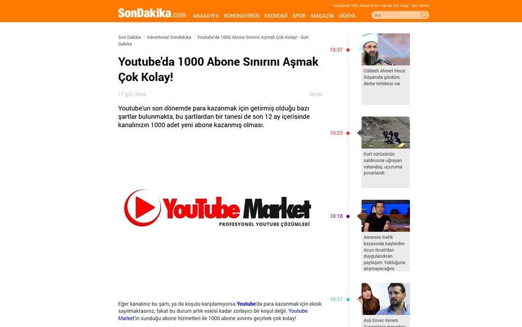 Youtube'da 1000 Abone Sınırını Aşmak Çok Kolay!